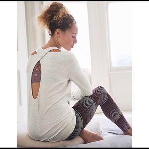 Athleta keyhole sweatshirt